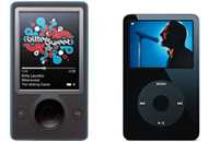 Comparativa Zune vs iPod