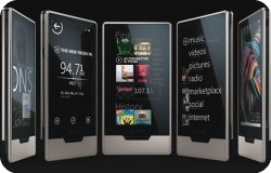 Zune HD plateado