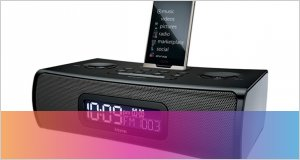 Dock con alarma iHome ZN90B para Zune