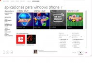 Software Zune 4.7 compatible con Windows Phone 7