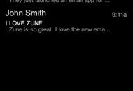 Finalmente Microsoft lanza una App de email para Zune HD