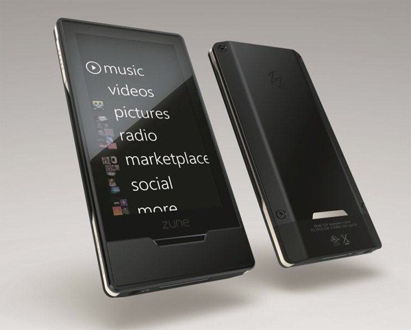Zune HD negro