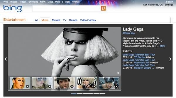 Bing Entertainment