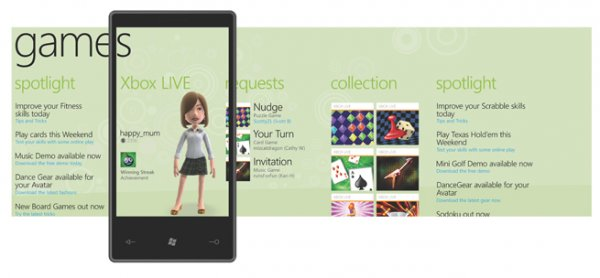 Zune HD no será compatible con los juegos para Windows Phone 7