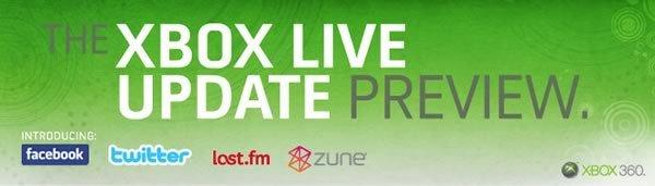 Zune en tu Xbox con XBOX Live Update Preview