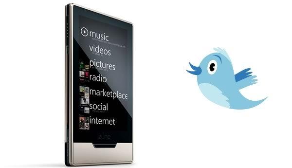 Twitter App para Zune HD